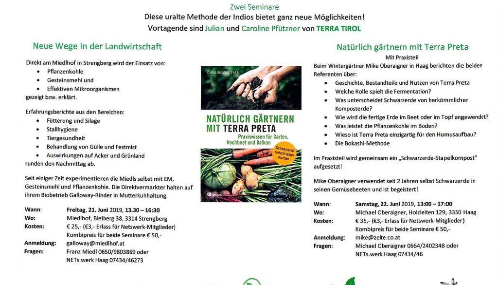 Flyer Seminar TerraPreta 2019